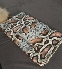 Snake print torbica