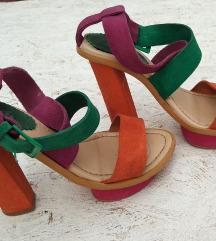 Kozne sandale (Prirodna koza)