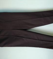 Crne ženske klasične pantalone