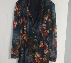Jesenja cvetna haljina