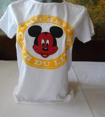 Bela Mickey mouse majica