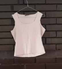 Nežno roze pamučna majica