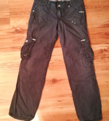 Lindex termo cargo pantalone XS