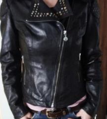 Fornarina kozna jakna S