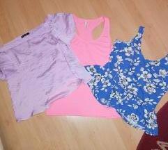 Tri majice Terranova+amisu