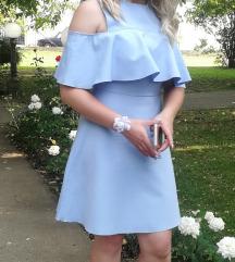 Zara svetlo plava haljina XS/S SNIZENA!!!