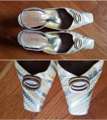 %9.900-Sandro Vicari kožne sandale, original