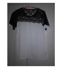 Bela bluza cipka Novo