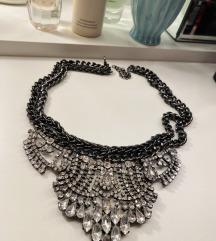 Masivna ogrlica sa cirkonima Helenadia - rez