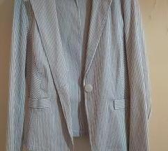 Beli sako na prugice