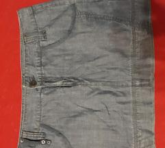 Vero moda teksas suknja