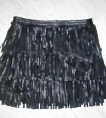 Prelepa nova suknjica sa resama M/L