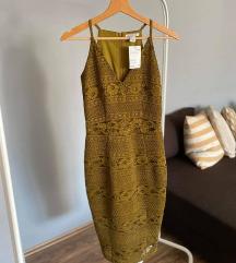 H&M nova elegantna haljina sa etiketom 34