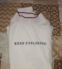 Terranova majica na duge rukave sa ruskom kragnom