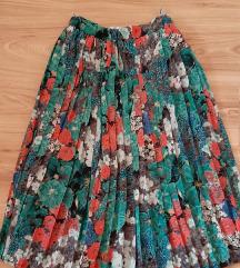 Plisirana suknja M   C&A