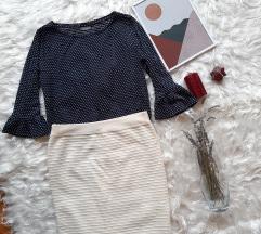 Pencil suknja bela vel. L 40
