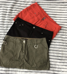 Tri mini suknje za 500