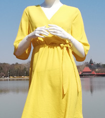 Zuta letnja haljinica ( etiketa )