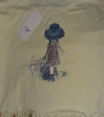 Sara Kej majica sa resama NOVO etiketa