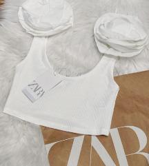 Beli Zara ribbed top NOV sa etiketom