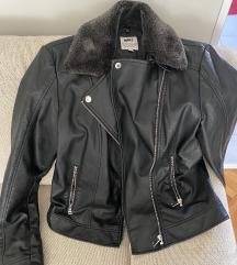 Marx crna kožna jakna (nošena jednom)