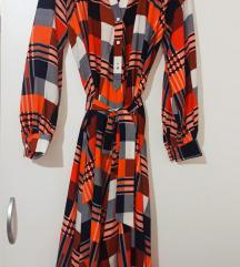 Imperial SAVRSENA haljina M/L NOVA 🧡🖤