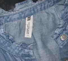 Zara jeans kosulja