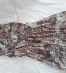 NOVA pastelnocvetna haljina