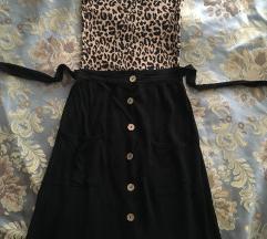 Lagana suknja na dugmice
