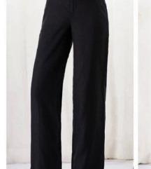 crne pantalone XL lan