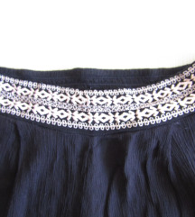 Crne letnje pantalone