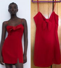 REZ-Preslatka, crvena haljina iz Zare- NOVO SA ET