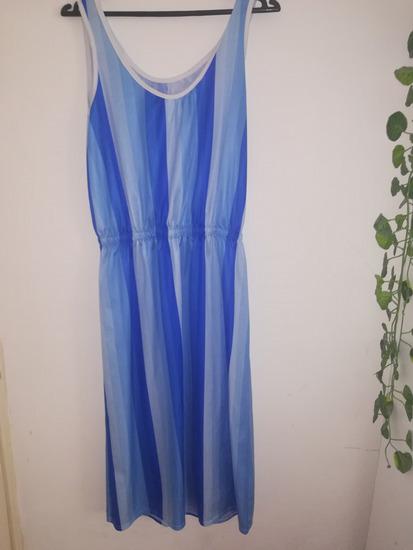 Sarena plava haljina 𝗭𝗔𝗗𝗡𝗝𝗔 𝗖𝗘𝗡𝗔