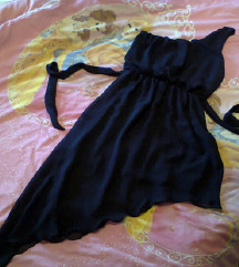 Teget asimetricna haljina vel.38