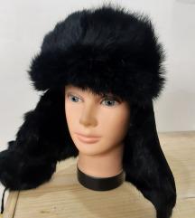 ruska kapa subara od  prirodnog  krzna