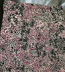 Mini suknja animal print