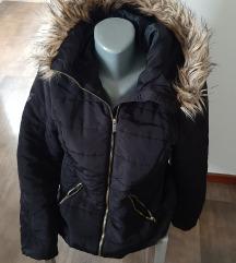 H&M crna jakna, 38, popust
