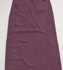 Dugačka suknja na preklop