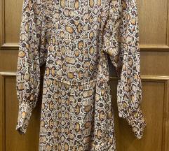 Mango animal print dugacka haljina