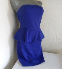 Bik Bok plava top haljina M