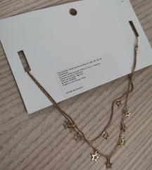 H&M choker ogrlica, novo