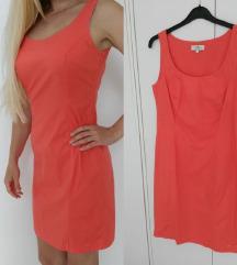 Nova Tom Tailor koralna haljina 36