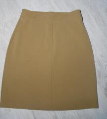 Predivna braon HENNES nova suknja M Rezz