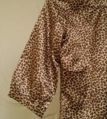 Satenska, animal print košulja 36/38