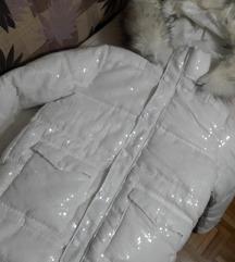 Zimska glitter jakna