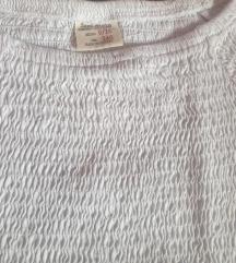 ZARA bela lastiš majica 9-10 ali pre 8 god