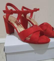 Crvene sandale, veličina 38
