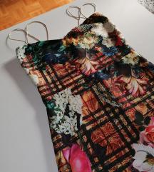 Cvetna midi haljina