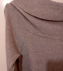 H&M off the Shoulder basic džemper NOVO
