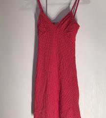 Kraca crvena haljina